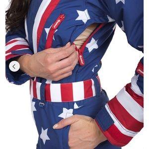 Women's Americana Ski Suit -Large NWT